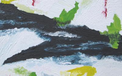 Flodbred - Bred flod 30x30 cm