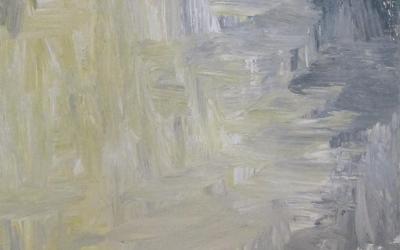 Gul Grå 30x90 cm