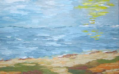 Kliter og Vesterhav 30 x 30 cm