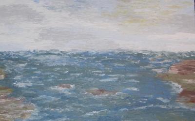Mandal, Sydnorge 60x80 cm